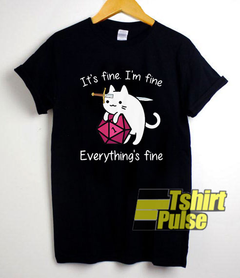 Dungeon Meowster Im Fine shirt