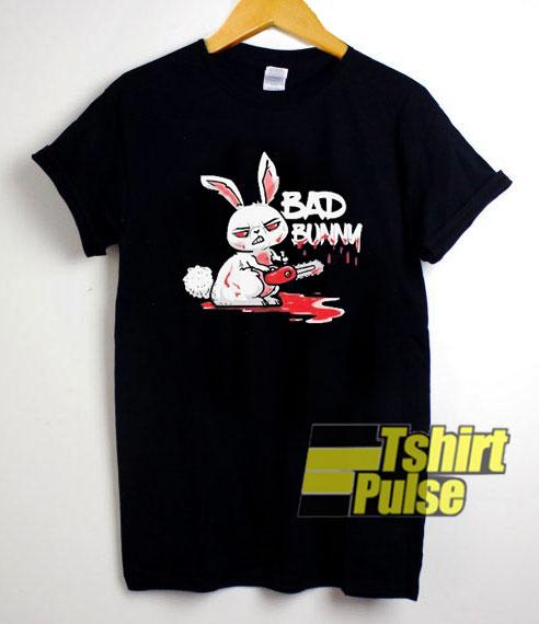 Horror Rabbit Bad Bunny shirt