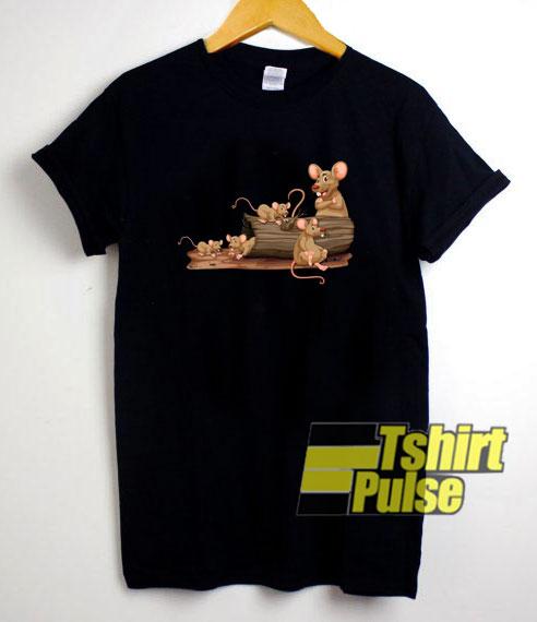 Retro Pet Rats Mouse shirt