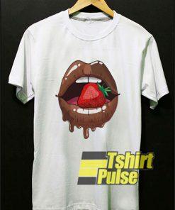 Strawberry in Chocolate Lips shirt