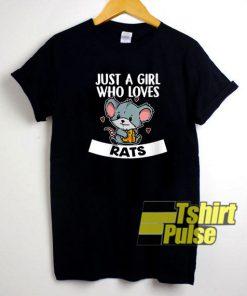 Who Loves Rats Cute shirt