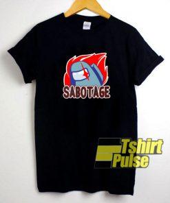 Among Us Sabotage shirt