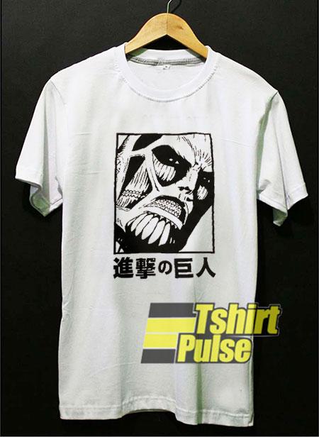 Attack On Titan Japanese shirt