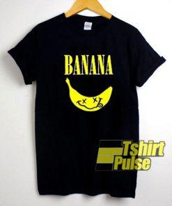 Banana Nirvana Parody shirt