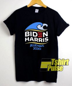 Biden Harris Blue Wave shirt