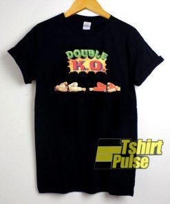 Double KO Anime shirt