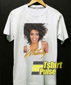 Graphic Whitney Houston shirt