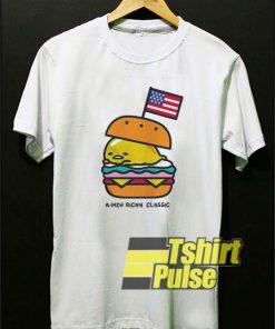 Gudetama American Burger shirt