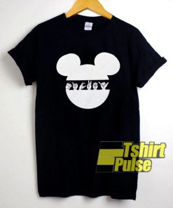 Hand Sign in Mickey Head shirt