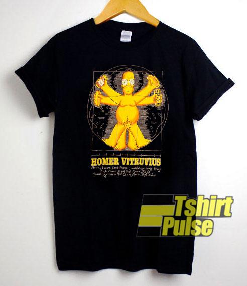 Homer Vitruvius shirt