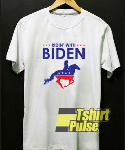 Horse Riding With Biden shirt