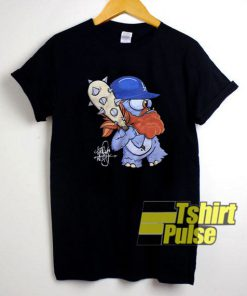 Justin Turner Cartoon shirt