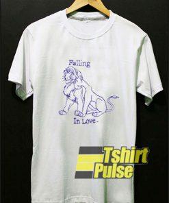 Lions Falling In Love shirt