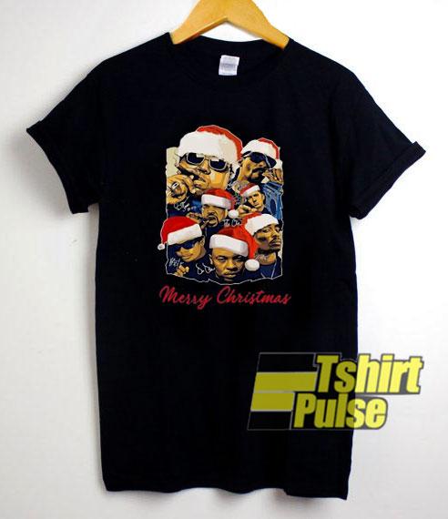 Merry Christmas Rapper Squad shirt