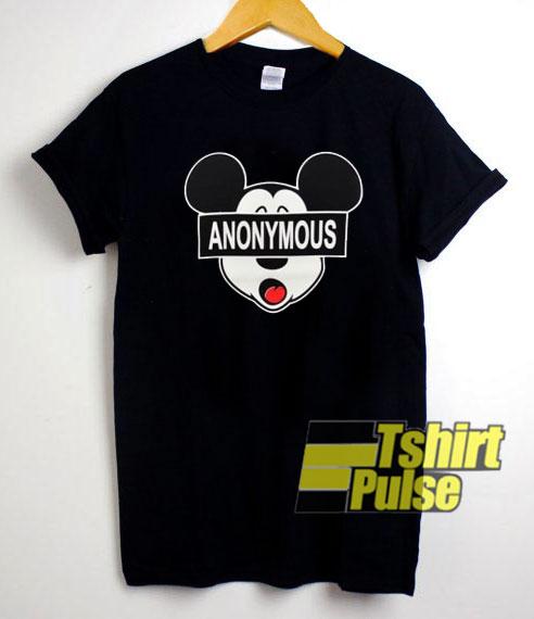 Mickey Anonymous shirt