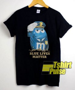 MnM Blue Lives Matter shirt