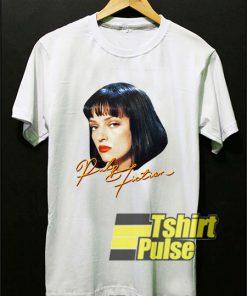 Pulp Fiction Face Art shirt