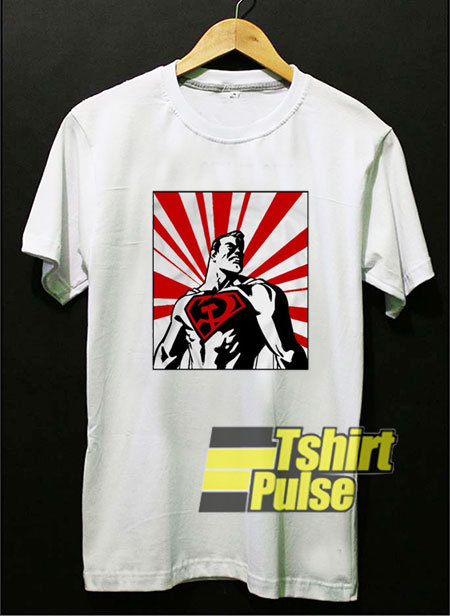 Red Son Superman shirt
