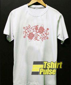 Rose Graphic Japanese shirt