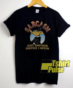 Sarcasm Daffy Duck shirt