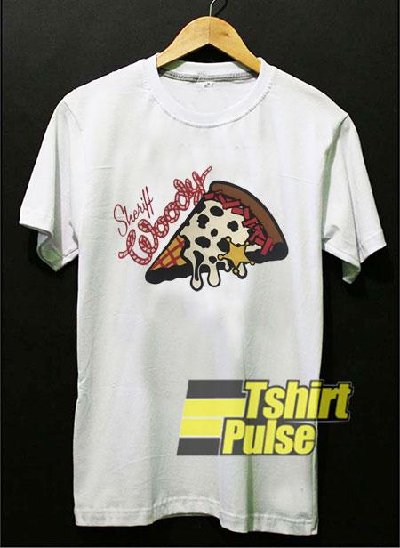 Sherif Woody Pizza shirt