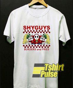 Shy Guys Burgers n Fries shirt