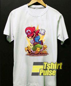 Super Mario in Action shirt