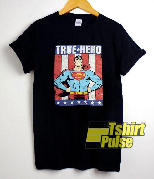 Superman True Hero shirt