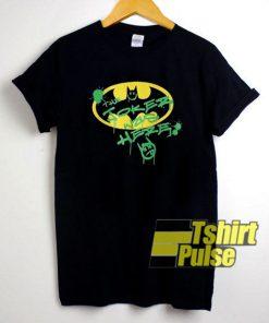 The Joker Was Here Batman shirt