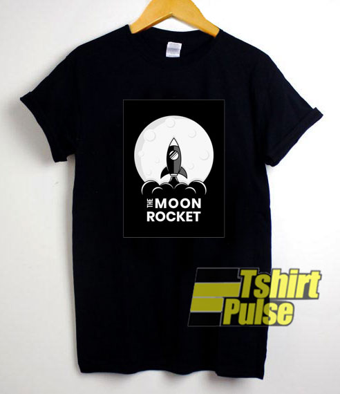 The Moon Rocket shirt