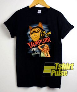 The Return of Vampurr shirt