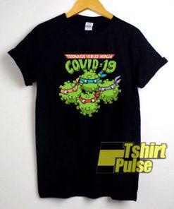 Virus Ninja Covid-19 shirt