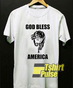 Yesus God Bless America shirt