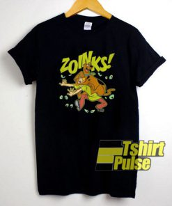 Zoinks Scooby-Doo Shaggy shirt