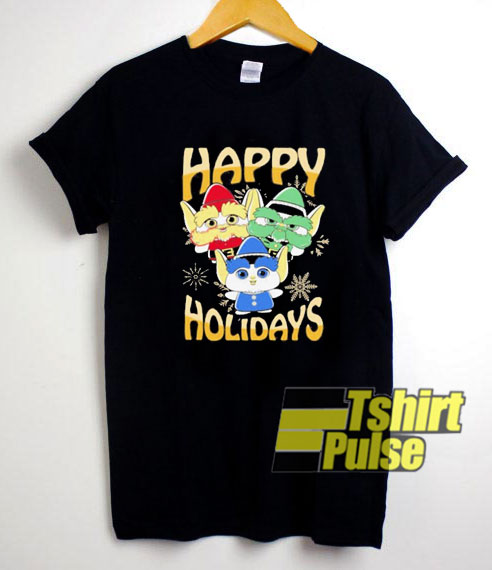 Elves Happy Holidays shirt