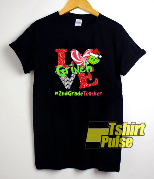 Merry Christmas Grinch Love shirt