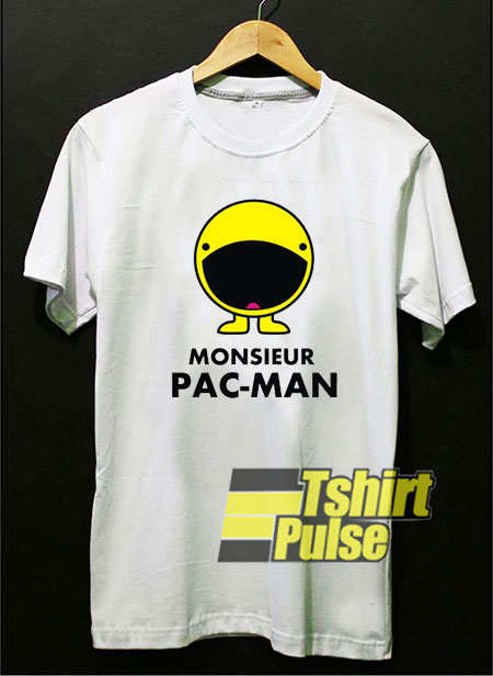 Monsieur Pacman shirt