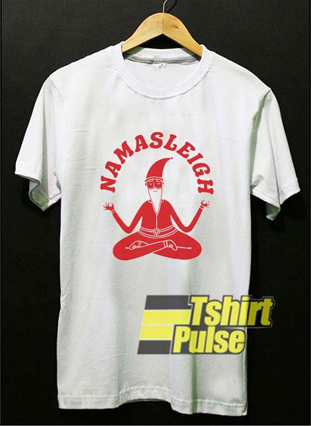 Namasleigh Yoga Santa2020 shirt
