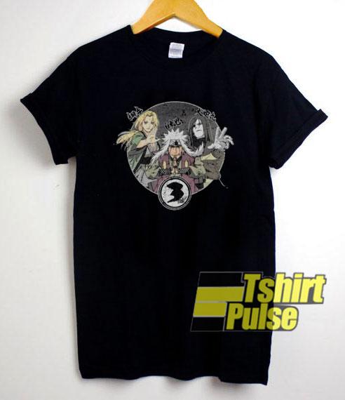 Naruto Anime Characters shirt