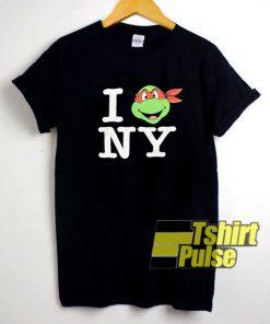 Ninja Turtles I Love NY shirt