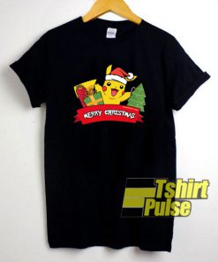Pokemon Pikachu Xmas shirt