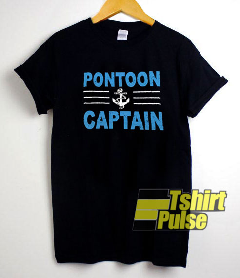 Pontoon Captain Graphic shirt