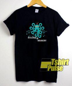 Release The Kraken Cthulhu shirt