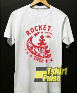 Rocket The Xmas Tree shirt