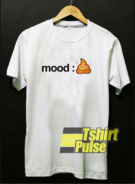 Shitty Mood Poop Emoji shirt