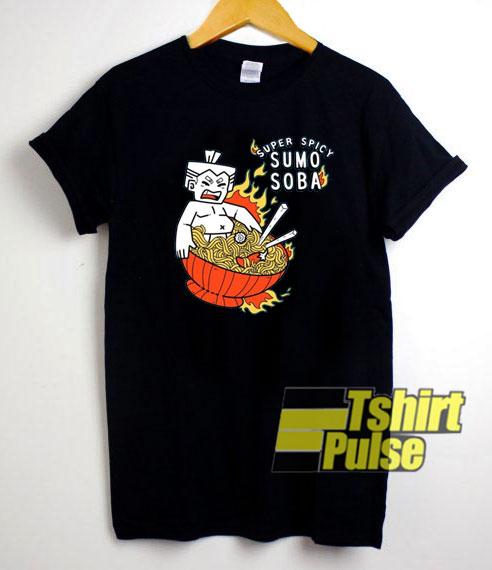 Super Spicy Sumo Soba shirt