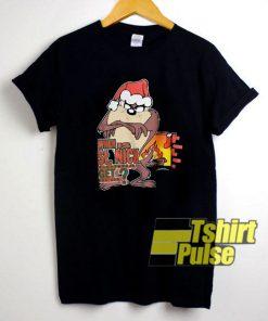 Taz Looney Tunes Christmas shirt