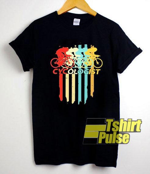 Vintage Cycologist Bicycle shirt