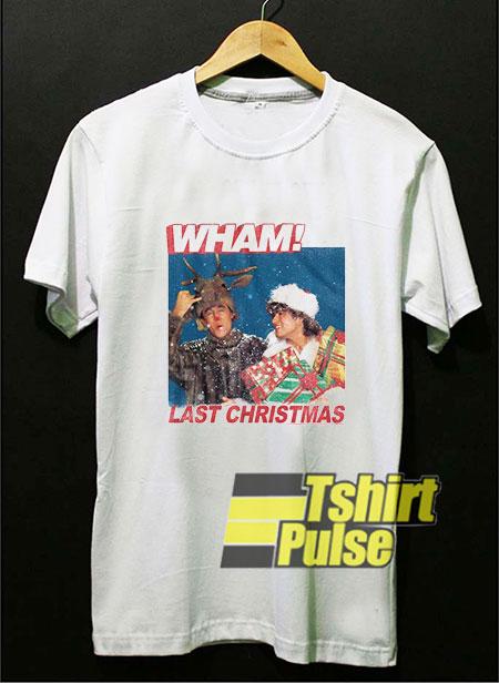 Wham Last Christmas shirt