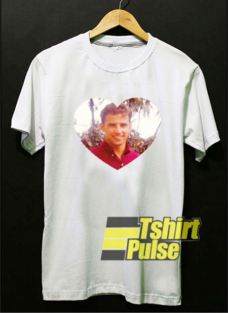 Young Joe Biden Love shirt